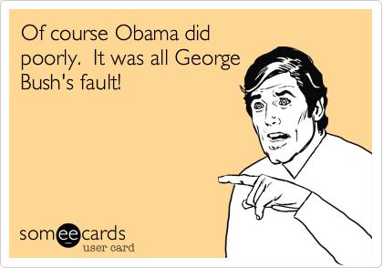 Of course Obama did