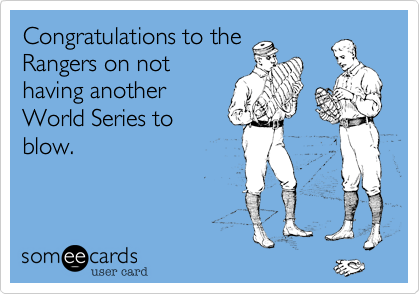 Congratulations to the