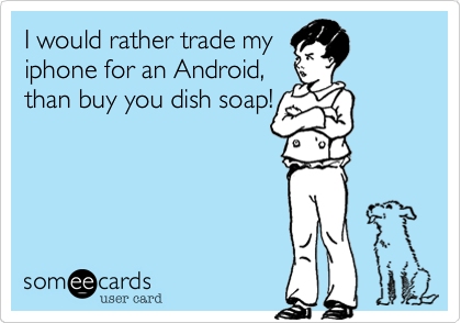 I would rather trade my