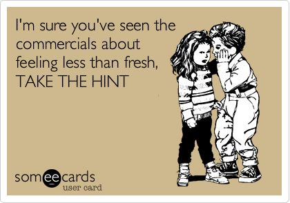 I'm sure you've seen the