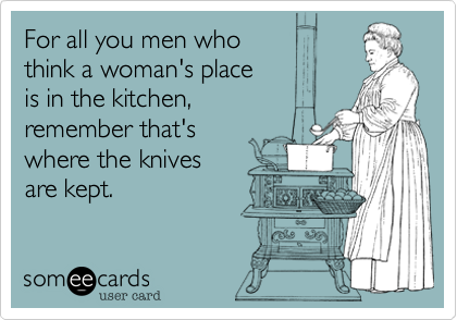 For all you men who