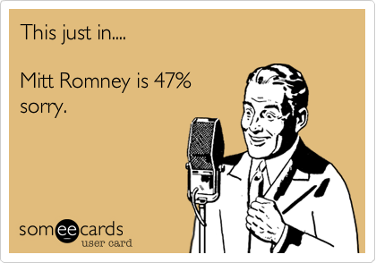 This just in....