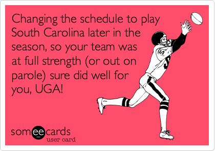 Changing the schedule to play