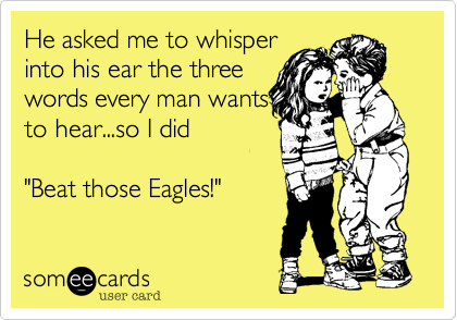 He asked me to whisper