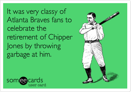 It was very classy of 