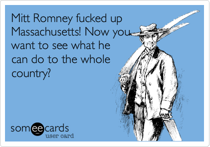 Mitt Romney fucked up