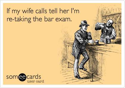 If my wife calls tell her I'm