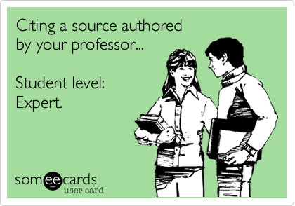 Citing a source authored 