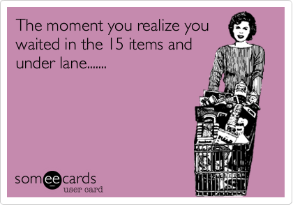 The moment you realize you