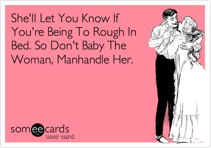 She'll Let You Know If