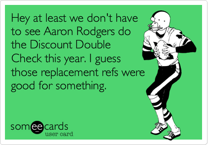 Hey at least we don't have
