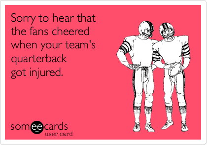 Sorry to hear that