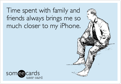 Time spent with family and
