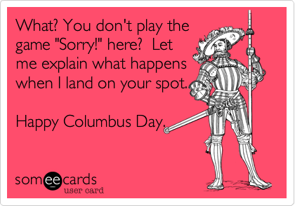 What? You don't play the