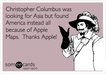 Christopher Columbus was