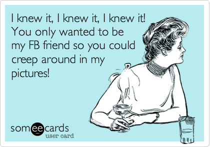 I knew it, I knew it, I knew it!