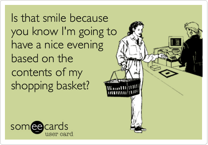 Is that smile because