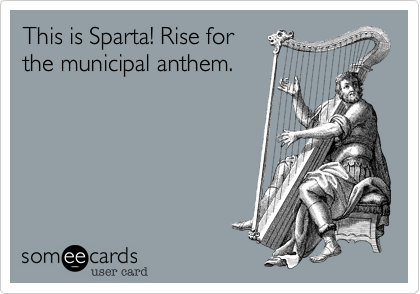 This is Sparta! Rise for