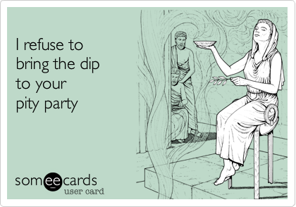 I refuse to 