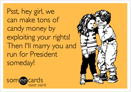 Psst, hey girl, we