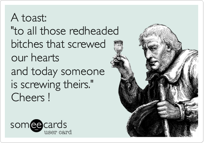 A toast: