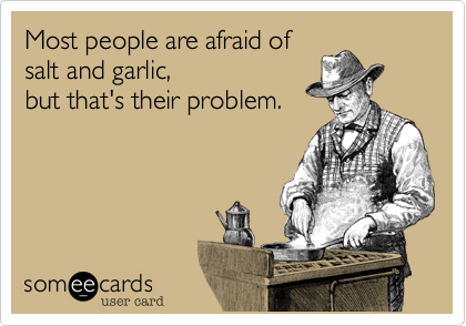 Most people are afraid of
