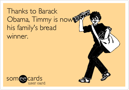 Thanks to Barack