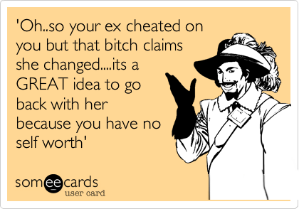 how to find out if your ex cheated on you