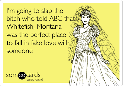 I'm going to slap the