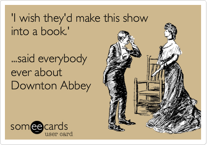 'I wish they'd make this show