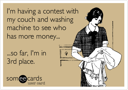 I'm having a contest with
