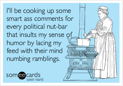 I'll be cooking up some 