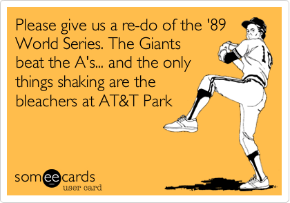 Please give us a re-do of the '89