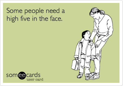 Some people need a 