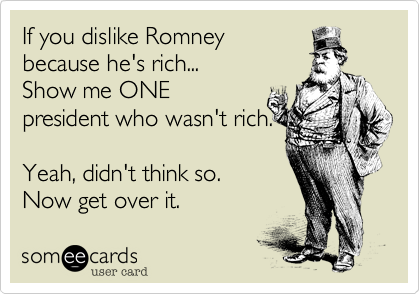 If you dislike Romney