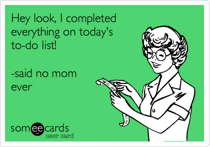 Hey look, I completed