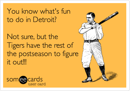 You know what's fun