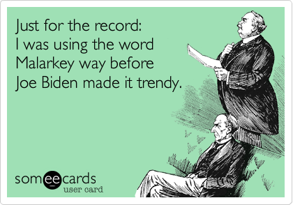 Just for the record: 