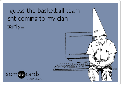 I guess the basketball team