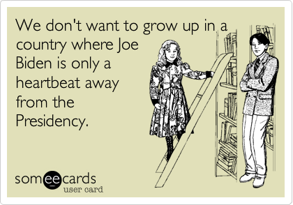 We don't want to grow up in a