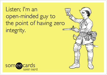 Listen; I'm an