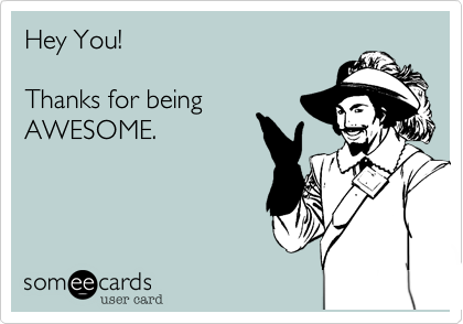 Hey You!  