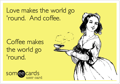 Love makes the world go