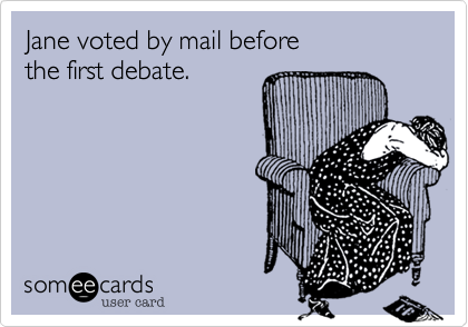 Jane voted by mail before