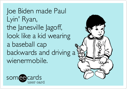 Joe Biden made Paul