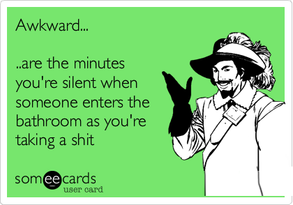 Awkward...