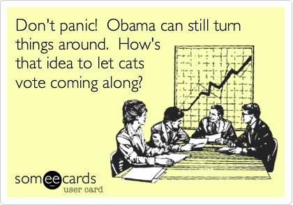 Don't panic!  Obama can still turn