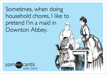 Sometimes, when doing 