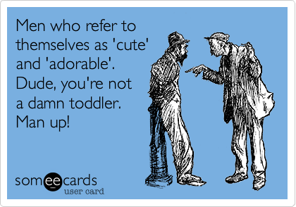 Men who refer to