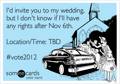 I'd invite you to my wedding,